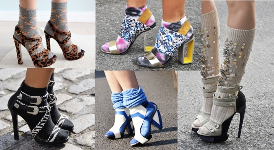 Designer Socks and Sandals